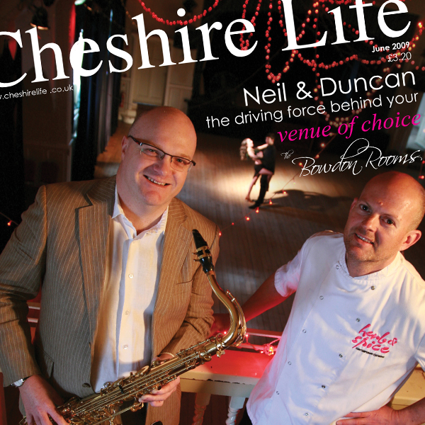 Cover Design for Cheshire Life