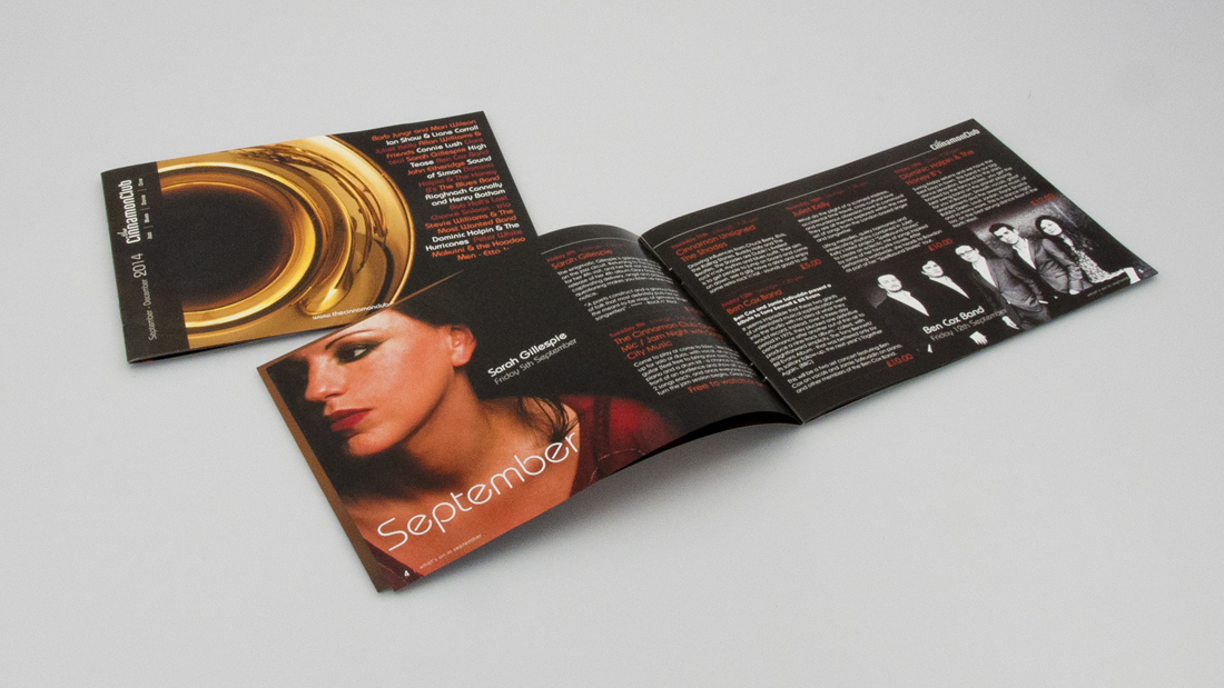Design / Music Brochures