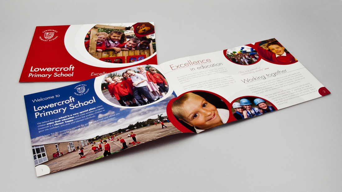 Lowercroft School Brochure Design