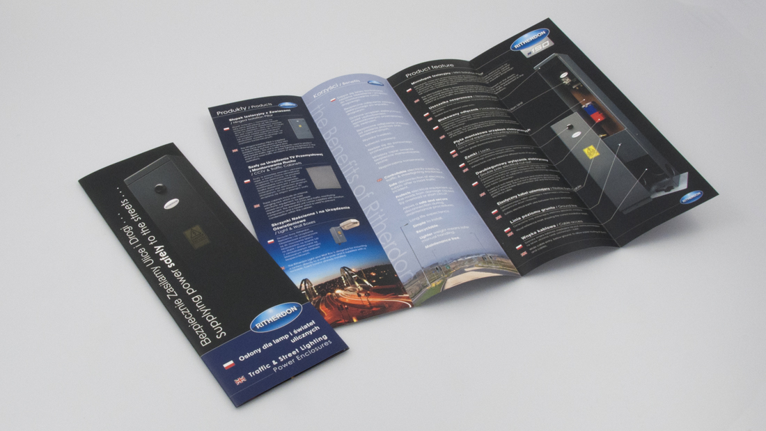 Ritherdon Brochure Design