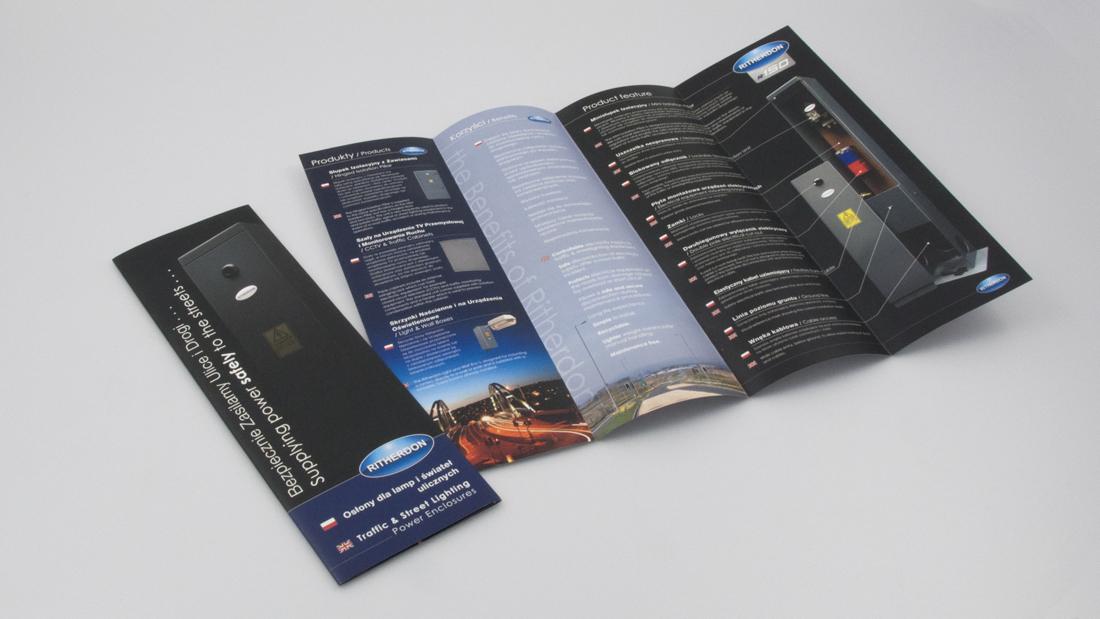 Ritherdon Brochure Design